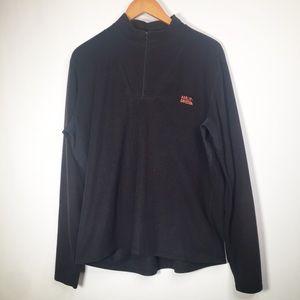 Harley Davidson OS Black Fleece 1/4 Zip Jacket